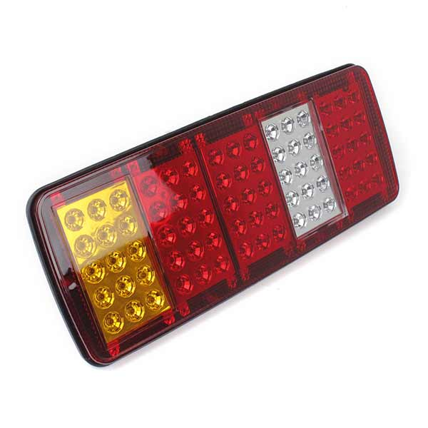 27inch 75LEDs Camión de Remolque Luces Traseras Tail Light Brake Light